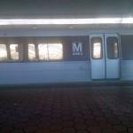 Metro car in Northern VA