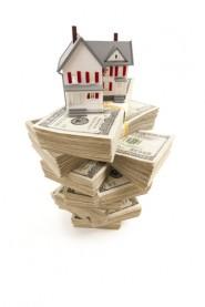 A house on money