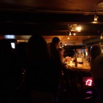 The nightlife at Flying Fish in Old Town during the weekend