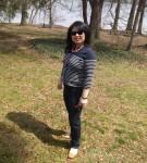 walking at the Potomac