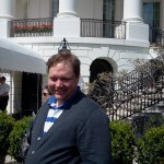 Will in front of White House