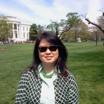 Julie at White House
