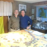 These two highly accomplished fellows are friends and gaming buddies. Andy is a doctor of history and is writing the history of Vietnam for the US Army.  Gary is an artist who has done commissioned work for important clients like the Department of Defense.