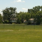 An open field at Bucknell Manor Park
