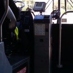 The front of a Fairfax Connector bus