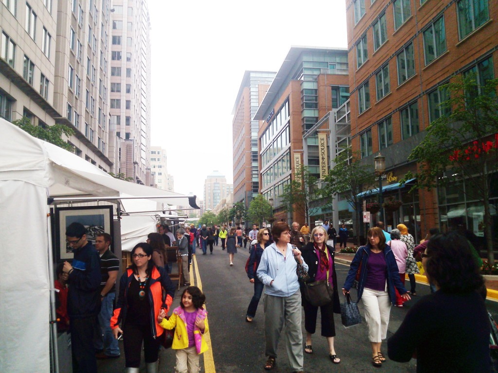 The Reston Town Center hosted the Northern Virginia Fine Arts Festival