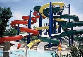 Cameron Run water-slides