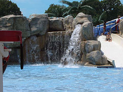 Cameron Run Regional Park waterfalls