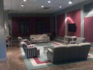 Crystal Gateway media room