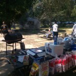 A barbeque at Pohick Regional Park