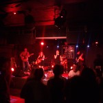 Live music at the Rock and Roll Hotel in DC