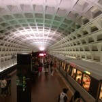 Archives Metro stop in DC