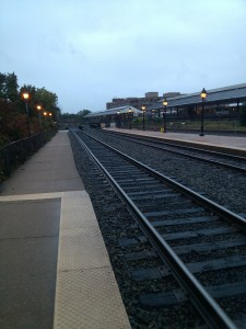 The Alexandria Amtrak Station is close to the King St. Metro
