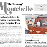 Community Center Master Plan Reviewed by Residents of Montebello