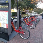 Bikeshare is a great option for people trying to get around Old Town