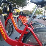 Capital bikeshare has a few locations in Old Town Alexandria