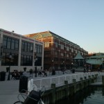 Old Town's waterfront is close to Founders Park