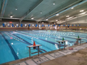 The pool at the Mount Vernon RECenter is available all year long