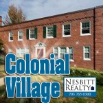 Colonial Village real estate agents.