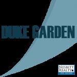Map of Duke Garden duplexes for sale in Alexandria VA
