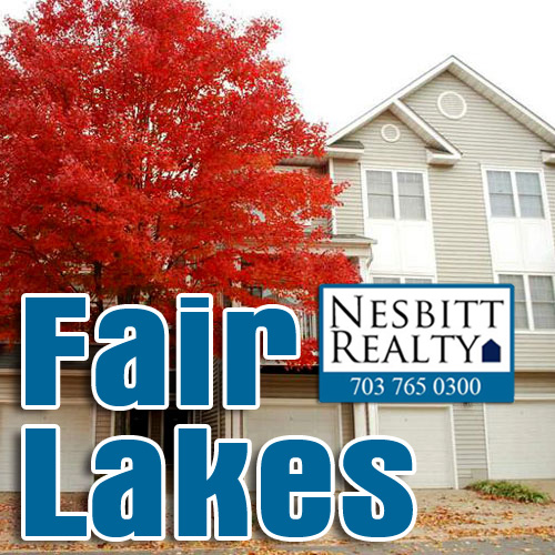 Fair Lakes real estate agents.