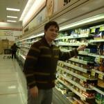 Aubrey Nesbitt likes the discounts at Shoppers Food Warehouse off Rt. 1
