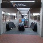 Other stops on the orange line include Ballston, Courthouse, Rosslyn, and more