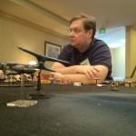 Will Nesbitt plays a game centered in the Battle Star Galactica Universe