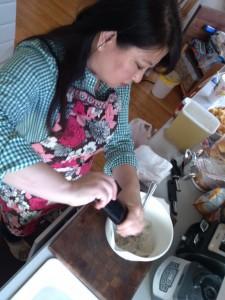 Julie Nesbitt is an amazing cook