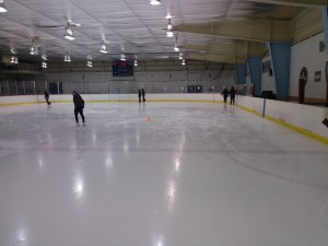 The Mount Vernon RECenter has an ice skating rink