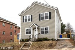 A Single family house at 2110 Cameron St N Arlington VA 22207