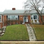 A Single family house at 3438 George Mason Dr Arlington VA 22207