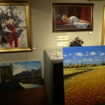 Old Town has lots of galleries to buy art from