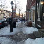 Winter on King St. in Old Town