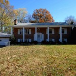 Single-family house at 9009 Captains Row, Alexandria, VA 22308