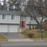 A single family homes at 9144 Burke Rd Burke VA 22015