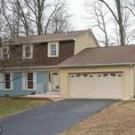 A single family homes at 7904 Springfield Village Dr Springfield VA 22152