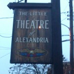 A sign for Little Theatre of Alexandria