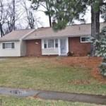Single-family house at 7317 Inzer St, Springfield, VA 22151