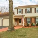 A single family homes at 8263 Hornbuckle Dr Springfield VA 22153