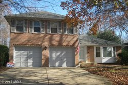 A single family homes at 7315 Walnut Knoll Dr Springfield VA 22153