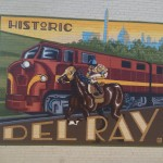 Murals are not an uncommon sight in Del Ray