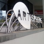 The Artisphere is close to the Rosslyn Metro