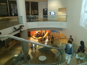 The Artisphere has a lounge