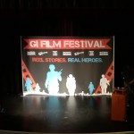 The GI Film Festival as seen from the second floor balcony