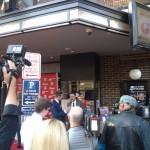 David Arquette gets a his photo taken