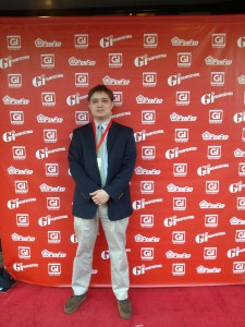 Aubrey Nesbitt gets a photo on the red carpet