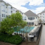 Condo with pool