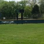 Nice weather for a baseball game