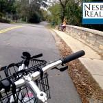 Alexandria Avenue bridges the Mount Vernon Trail